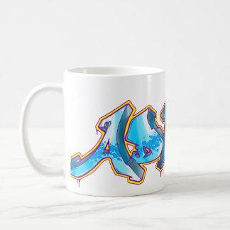 ADRIAN Graffiti Name - Basic White Mug
