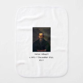 Adrian willaert burp cloth