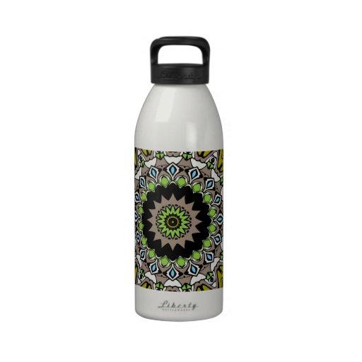 Adrianna Kaleidoscope Design Water Bottle