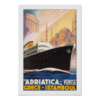 Adriatica Line Print
