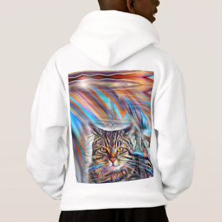 Adrift in Colors Tropical Sunset Cat