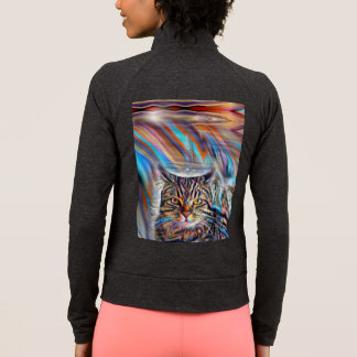 Adrift in Colors Tropical Sunset Cat Jacket