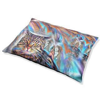 Adrift in Colors Tropical Sunset Cat Pet Bed