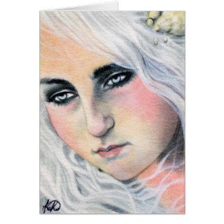 Adrift Mermaid Card