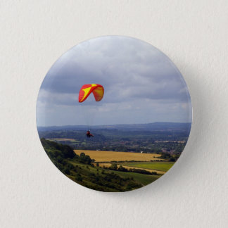 Adrift on the Wind 6 Cm Round Badge