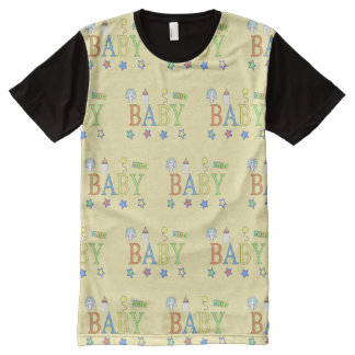 Adult Baby | Baby tile | Baby 4 Life All-Over Print T-Shirt