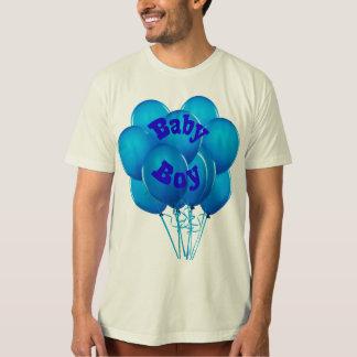 Adult Baby Boy Balloons T-Shirt