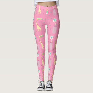 Adult Baby Leggings Pink / ABDL / Baby 4 Life