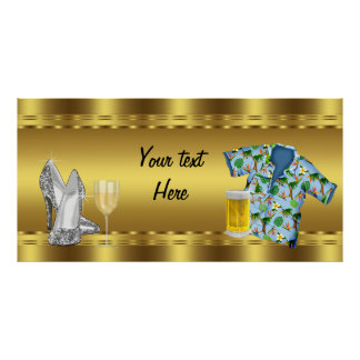 Adult Birthday Party Banner Poster