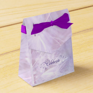 Adult Birthday Party Custom Tent Favor Box