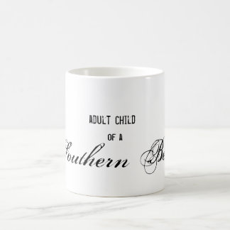 adult child, of a, Southern Belle Basic White Mug