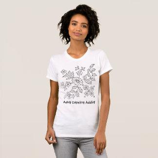 Adult Coloring AddictP T-Shirt