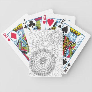 Adult Colouring Geometric Design Poker Deck