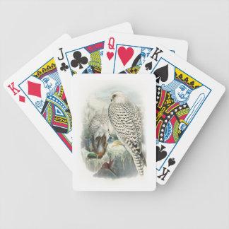 Adult Dark Greenland Falcon Birds of Great Britain Poker Deck