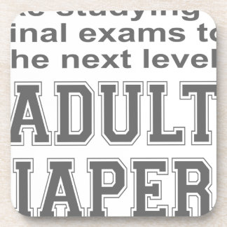 ADULT DIAPERS HUMOR T-SHIRTS AND GIFTS DRINK COASTERS