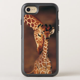 Adult Giraffe with calf (Giraffa camelopardalis) OtterBox Symmetry iPhone 8/7 Case