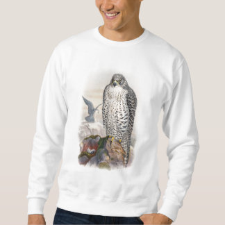 Adult Iceland Falcon Gould Birds of Great Britain Sweatshirt