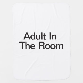 Adult In The Room Buggy Blanket