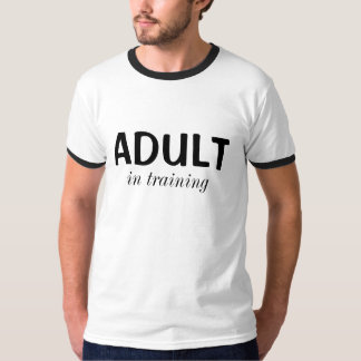 ADULT, in training T-Shirt