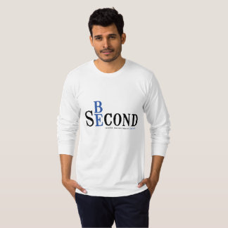 Adult long sleeve white shirt