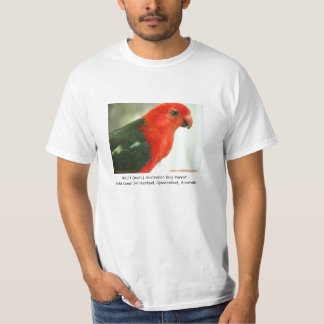 Adult (male) Australian King Parrot T-Shirt