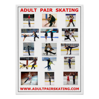 ADULT PAIR SKATING POSTER