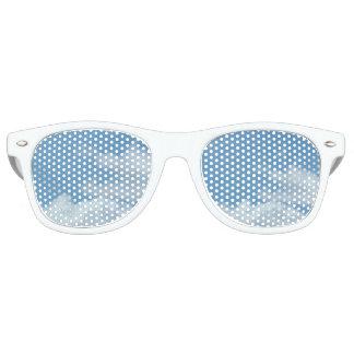Adult Retro Party Shades, blue sky Retro Sunglasses