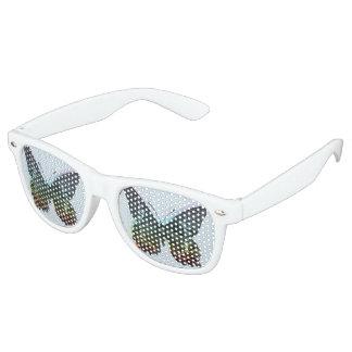 Adult Retro Party Shades, White Retro Sunglasses