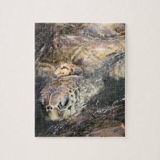 Adult Sea Turtle Jigsaw Puzzle
