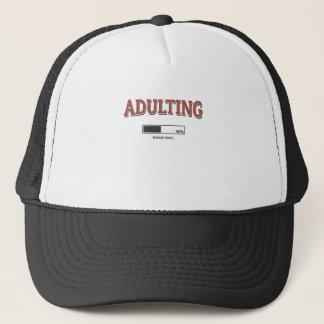 Adulting Trucker Hat