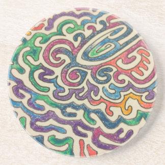 Adulting Zen Beverage Coaster