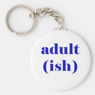 Adultish Key Ring