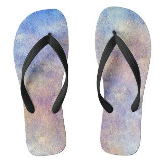 Adult's Abstract Design Flip Flops