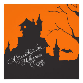 Adult's Halloween Costume Party Invitation