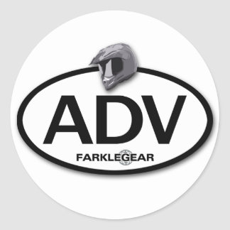 ADV Sticker! Classic Round Sticker