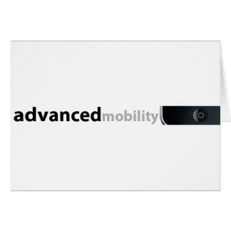 Advanced Mobility Greeting Card