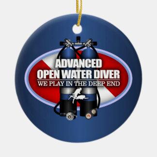 Advanced Open Water (ST) Round Ceramic Decoration