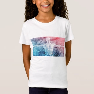Advanced Technology and Science Abstract T-Shirt