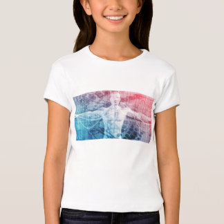 Advanced Technology and Science Abstract Tee Shirt