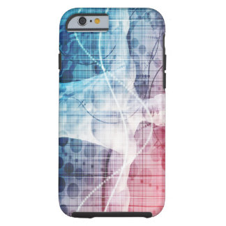 Advanced Technology and Science Abstract Tough iPhone 6 Case