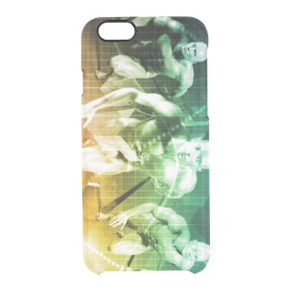 Advanced Technology as a IT Concept Background Clear iPhone 6/6S Case