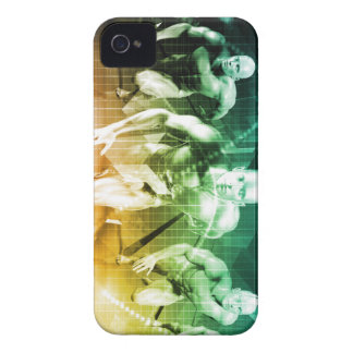 Advanced Technology as a IT Concept Background iPhone 4 Covers
