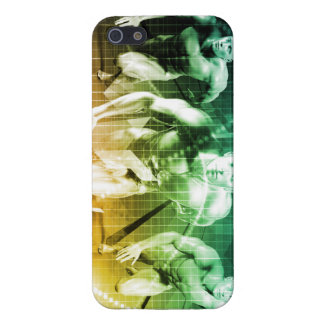 Advanced Technology as a IT Concept Background iPhone 5/5S Cover