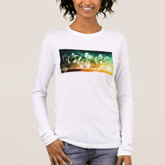 Advanced Technology as a IT Concept Background Long Sleeve T-Shirt