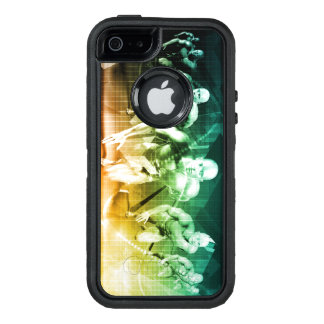 Advanced Technology as a IT Concept Background OtterBox Defender iPhone Case