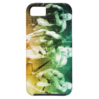 Advanced Technology as a IT Concept Background Tough iPhone 5 Case
