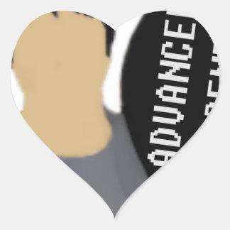 Advanceed Placement Heart Sticker