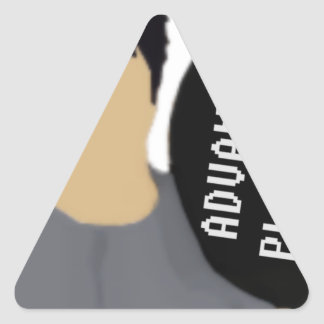 Advanceed Placement Triangle Sticker