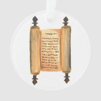 Advent Jesse Tree Scroll Ornament