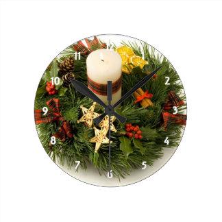 Advent Wreath Clock